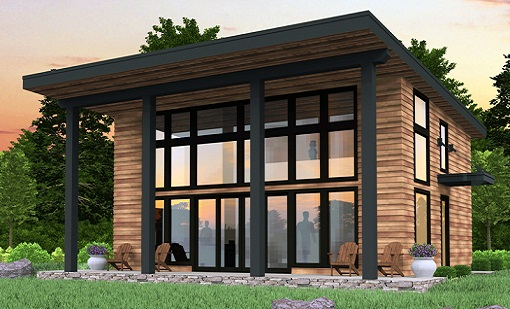 Bamboo House ThermoWood