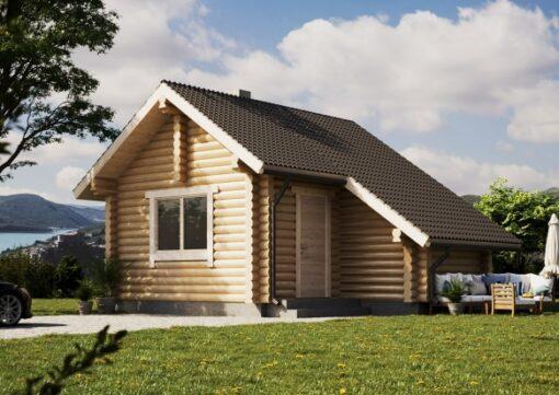 Přízemní sauna Aleks